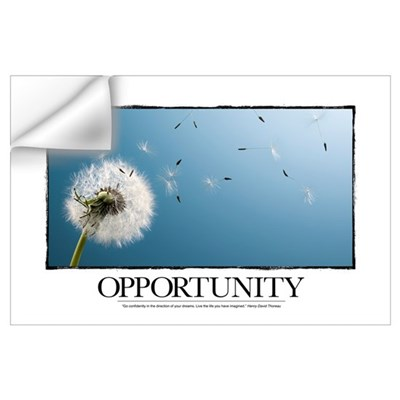 Inspirational Poster: Go confidently in the direct Wall Decal