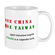 One China One Taiwan Mug