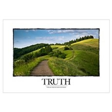Inspirational Poster: A bend in the road is not th Framed Print