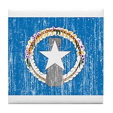 """Northern Mariana Islands Flag"" Tile Coaster"