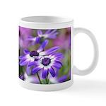 Purple and White Spring Flowers Mug