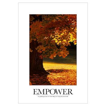 inspirational motivational poster our greatest gl framed print