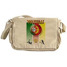 Portugal Futebol Messenger Bag