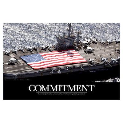 Motivational Poster: USS Nimitz Poster