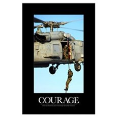 Motivational Poster: Courage Poster