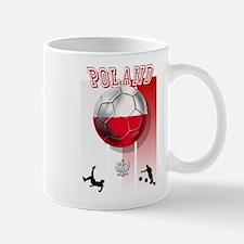 Poland Football Soccer Mug