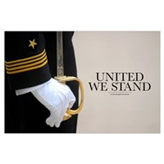 Military Poster: United We Stand Poster
