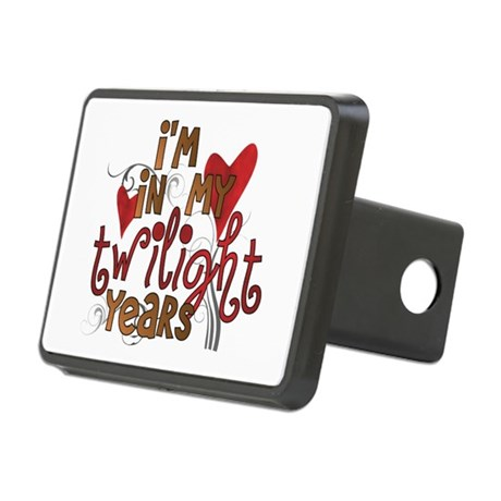 Funny Twilight Years Rectangular Hitch Cover