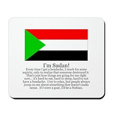 Sudan Mousepad