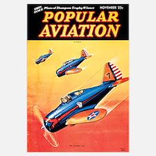 Popular Aviation Magazine Cover, November 1936