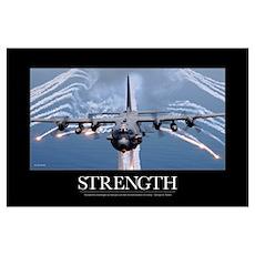 Military Motivational Poster: An AC-130H Gunship a Poster