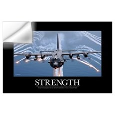 Military Motivational Poster: An AC-130H Gunship a Wall Decal