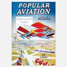 Popular Aviation Magazine Cover, November 1930