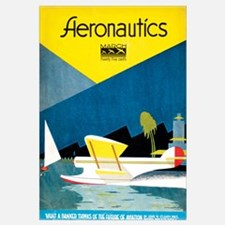 Popular Aviation Magazine Cover, March 1930