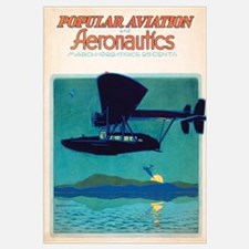 Popular Aviation Magazine Cover, March 1929