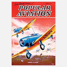 Popular Aviation Magazine Cover, June 1936