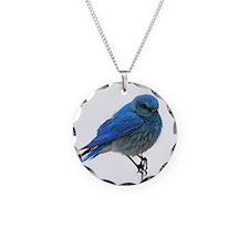 Mountain Blue Bird Necklace