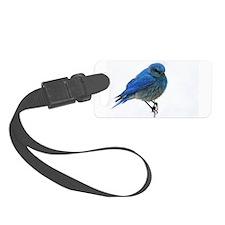 Mountain Blue Bird Luggage Tag