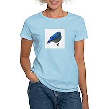 Mountain Blue Bird T-Shirt