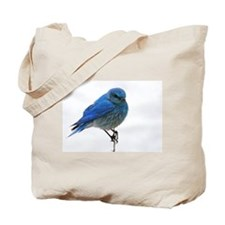 Mountain Blue Bird Tote Bag