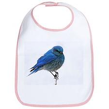 Mountain Blue Bird Bib