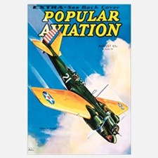 Popular Aviation Magazine Cover, August 1934