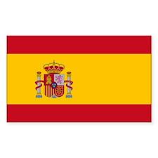 Spanish Flag Decal