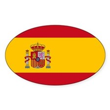 Spanish Flag Decal