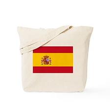 Spanish Flag Tote Bag