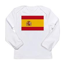 Spanish Flag Long Sleeve Infant T-Shirt