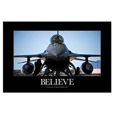 Air Force Poster: U.S. Air Force crew chiefs do pr Poster