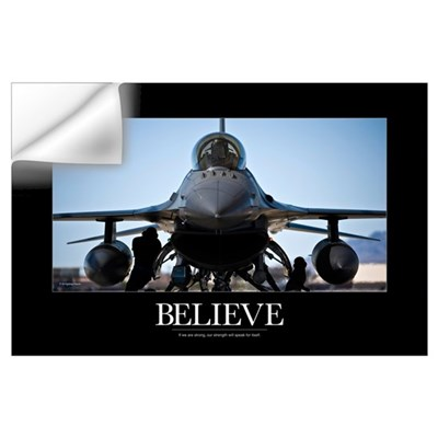 Air Force Poster: U.S. Air Force crew chiefs do pr Wall Decal