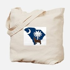 South Carolina Boykin Spaniel Tote Bag