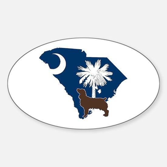 South Carolina Boykin Spaniel Sticker (Oval)