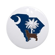 South Carolina Boykin Spaniel Ornament (Round)