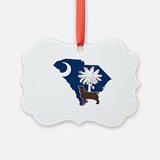 South Carolina Boykin Spaniel Ornament