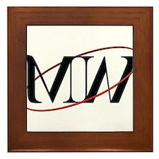 MW Logo Framed Tile