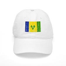 Saint Vincent Flag Baseball Cap