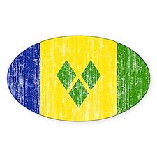 Saint Vincent Flag Decal