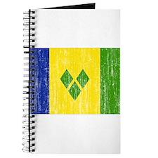 Saint Vincent Flag Journal