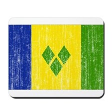 Saint Vincent Flag Mousepad