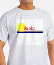 Brendon Ash Grey T-Shirt