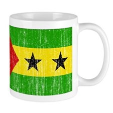 Sao Tome and Principe Flag Mug