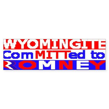 WYOMINGITE.png Sticker (Bumper 50 pk)