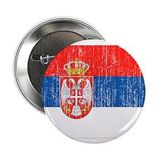 "Serbia Flag 2.25"" Button (10 pack)"