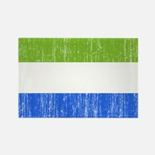 Sierra Leone Flag Rectangle Magnet (10 pack)
