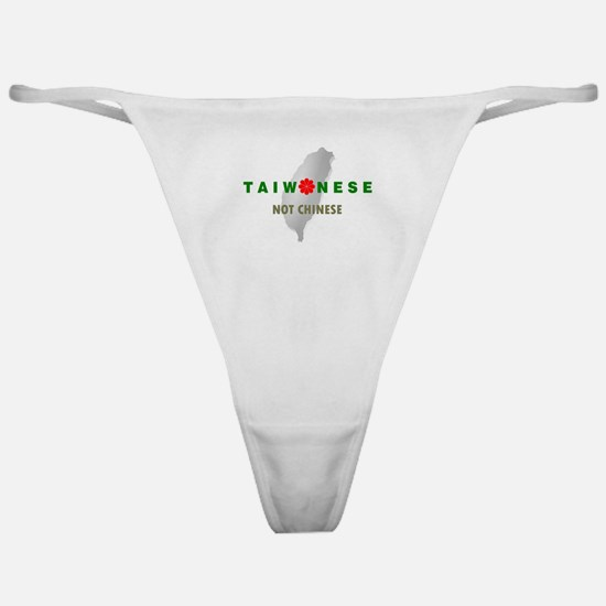 Taiwanese Not Chinese (with Island) Classic Thong