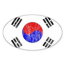 South Korea Flag Decal