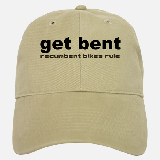Get Bent Baseball Baseball Cap