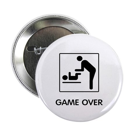 "Game Over 2.25"" Button"